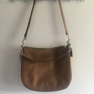 NWT Never Used Coach Pebble Chelsea Hobo Bag